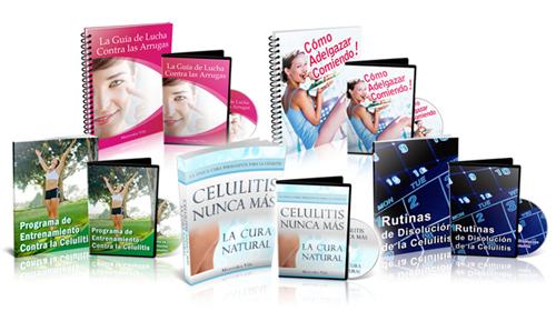 Paquete completo Celulitis Nunca Mas